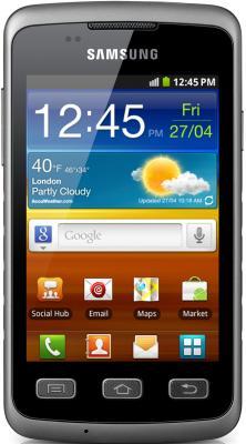 Смартфон Samsung S5690 Galaxy Xcover Gray (GT-S5690 TAASER) - общий вид