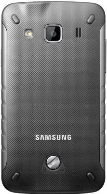 Смартфон Samsung S5690 Galaxy Xcover Gray (GT-S5690 TAASER) - вид сзади
