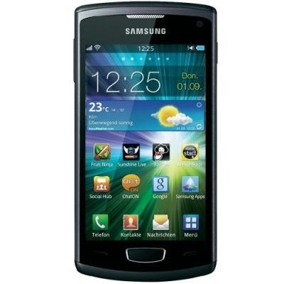Смартфон Samsung S8600 Wave III Black (GT-S8600 HKASER) - спереди