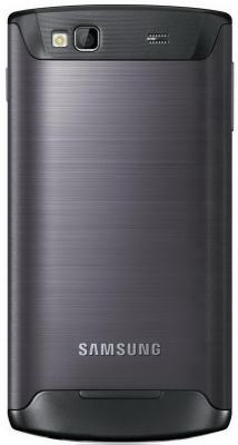 Смартфон Samsung S8600 Wave III Black (GT-S8600 HKASER) - сзади