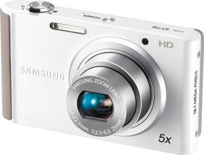 Компактный фотоаппарат Samsung ST76 (EC-ST76ZZBPWRU) White - общий вид