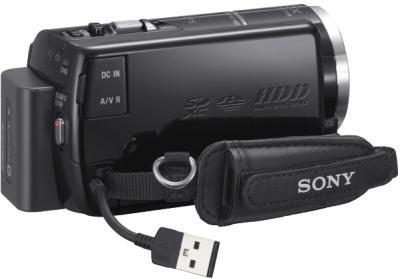 Видеокамера Sony HDR-XR260VE - вид сбоку