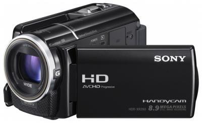 Видеокамера Sony HDR-XR260VE - в работе
