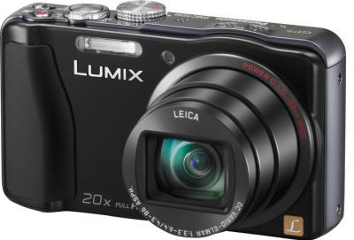 Компактный фотоаппарат Panasonic Lumix DMC-TZ30 Black - общий вид