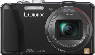 Компактный фотоаппарат Panasonic Lumix DMC-TZ30 Black - вид спереди