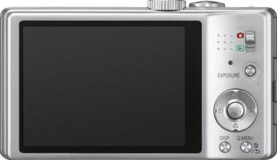 Компактный фотоаппарат Panasonic Lumix DMC-TZ25EE-S - вид сзади