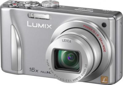 Компактный фотоаппарат Panasonic Lumix DMC-TZ25EE-S - общий вид