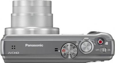 Компактный фотоаппарат Panasonic Lumix DMC-TZ25EE-S - вид сверху
