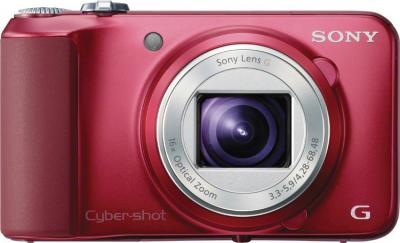 Компактный фотоаппарат Sony Cyber-shot DSC-H90 - вид спереди