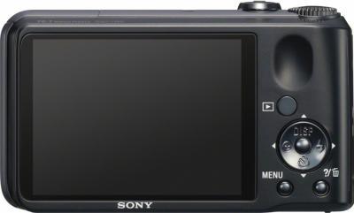 Компактный фотоаппарат Sony Cyber-shot DSC-H90 - вид сзади