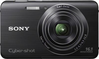 Компактный фотоаппарат Sony Cyber-Shot DSC-W650 - вид спереди