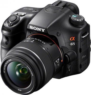 Зеркальный фотоаппарат Sony Alpha SLT-A65K - общий вид