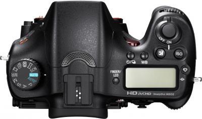 Зеркальный фотоаппарат Sony Alpha SLT-A77K - вид сверху