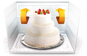 Холодильник с морозильником Samsung RL52TEBVB1