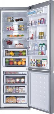 Холодильник с морозильником Samsung RL55TEBSL1 - внутренний вид