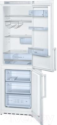 Холодильник с морозильником Bosch KGS36XW20R - Общий вид