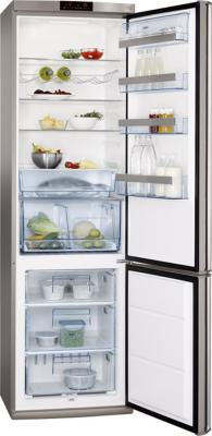 Холодильник с морозильником AEG S74000CSM0 - общий вид