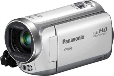 Видеокамера Panasonic HC-V100EE-W - общий вид