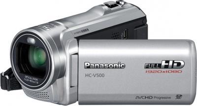 Видеокамера Panasonic HC-V500EE-S - общий вид