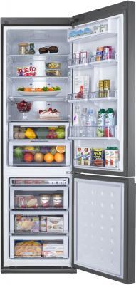 Холодильник с морозильником Samsung RL57TTE2A1 - внутренний вид