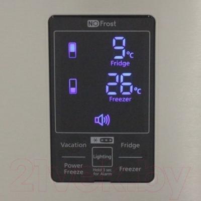 Холодильник с морозильником Samsung RL57TTE2A1