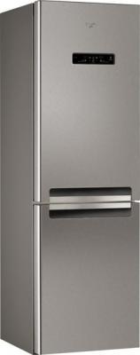 Холодильник с морозильником Whirlpool WBV 3387 NFCIX - вид спереди