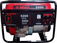 Бензиновый генератор Weima WM5500 -