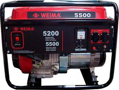 Бензиновый генератор Weima WM5500 - общий вид