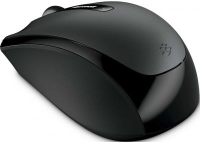 Мышь Microsoft Wireless Mobile Mouse 3500 Loch Nes (GMF-00007) - общий вид