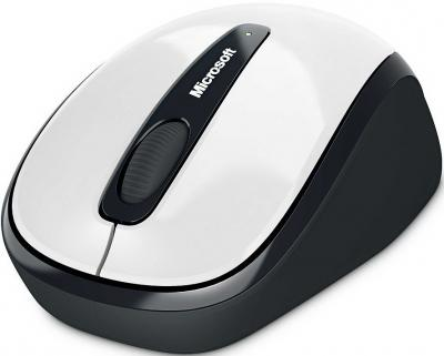 Мышь Microsoft Wireless Mobile Mouse 3500 White (GMF-00040) - общий вид