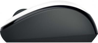 Мышь Microsoft Wireless Mobile Mouse 3500 White (GMF-00040) - вид сбоку