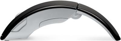 Мышь Microsoft ARC Mouse Black (ZJA-00010) - общий вид