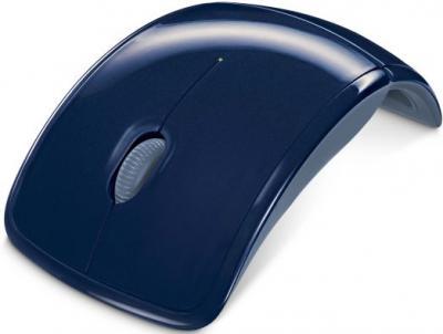 Мышь Microsoft ARC Mouse Blue (ZJA-00038) - общий вид