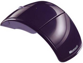Мышь Microsoft ARC Mouse Purple (ZJA-00039) - общий вид