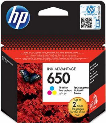 Картридж HP 650 (CZ102AE) - общий вид