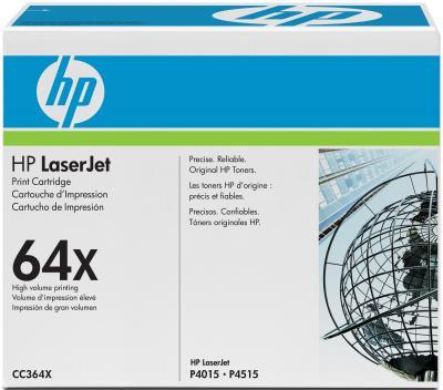 Тонер-картридж HP 64X (CC364X) - общий вид