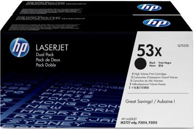 Комплект тонер-картриджей HP 53x (Q7553XD) - общий вид