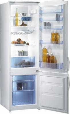 Холодильник с морозильником Gorenje RK41200W - общий вид