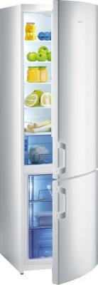 Холодильник с морозильником Gorenje RK60300DW - вид спереди