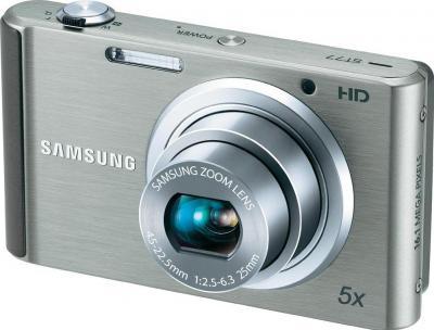 Компактный фотоаппарат Samsung ST77 (EC-ST77ZZFPSRU) Silver - общий вид