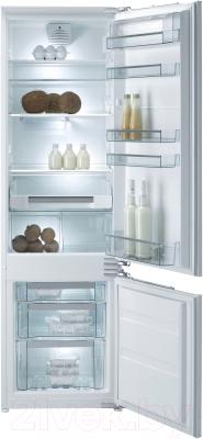 Холодильник с морозильником Gorenje RKI5181KW - общий вид