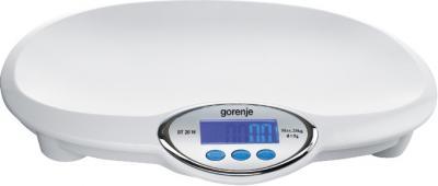 Напольные весы Gorenje BT20W - общий вид