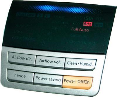 Климатический комплекс Panasonic F-VXD50R Silver - панель