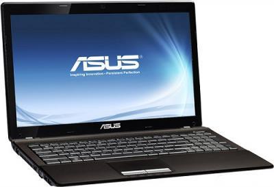 Ноутбук Asus K53TA-SX007V (90N71C428W2247VD13AC) - Вид сбоку