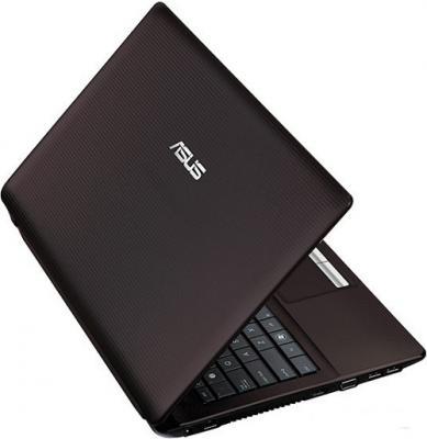 Ноутбук Asus K53TA-SX007V (90N71C428W2247VD13AC) - Вид сзади сверху