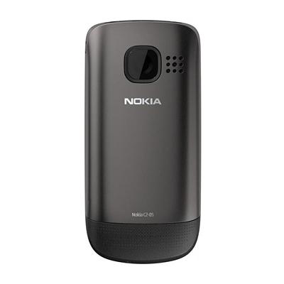 Мобильный телефон Nokia C2-05 Dark Gray - сзади