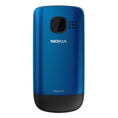 Мобильный телефон Nokia C2-05 Peaco - сзади