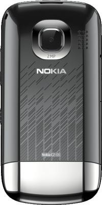 Мобильный телефон Nokia C2-06 Graphite - задняя панель