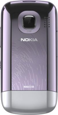 Мобильный телефон Nokia C2-06 Lilac - задняя крышка