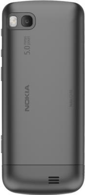 Мобильный телефон Nokia C3-01.5 Warm Gray - вид сзади